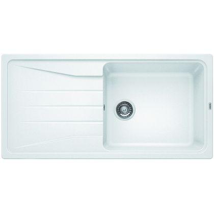 Chiuveta de bucatarie Blanco SONA XL 6 S silgranit, alb, 519692, 100 cm