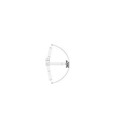Baterie de bucatarie Blanco LINUS, silgranit, alb, 516702