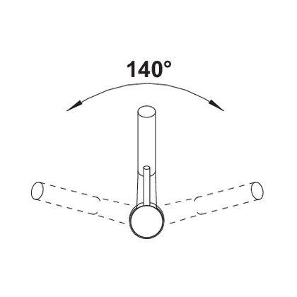 Bateria de bucatarie Blanco ANTAS-S SILGRANIT / CROM, antracit, 515356 , extractabil