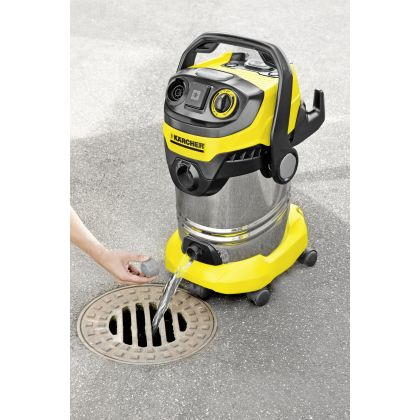 Aspirator multifunctional cu sac Karcher WD 6 P Premium Renovation Kit, 1.348-277.0, 260 AW, uscat-umed, accesorii curatenie renovare