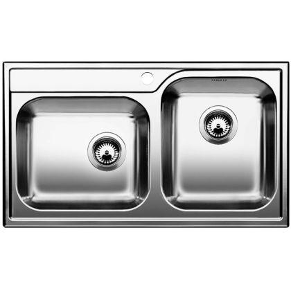 Chiveta de bucatarie BLANCO MEDIAN 9 18/10, inox, 512658, 86 cm
