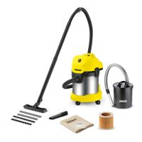 Aspirator multifunctional cu sac Karcher WD 3 Premium Fireplace Kit, 1.629-845.0, uscat-umed, 200 AW