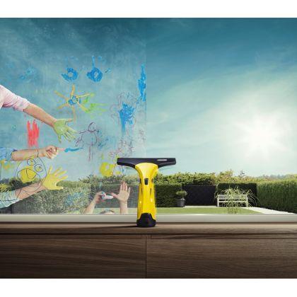 Aspirator curatat geamuri Karcher WV 2 Premium, 1.633-430.0, curatare 75 m2, duza interschimbabila