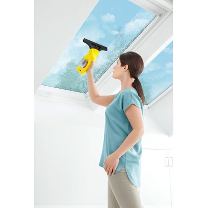 Aspirator curatat geamuri Karcher WV 1 Plus, 1.633-014.0, curatare 55 m2, 1 duza aspirare de 25 cm