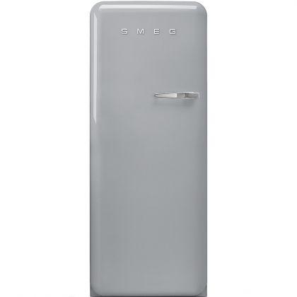 Frigider retro Smeg FAB28LSV3, inox, A+++, ventilat, inverter, tratament antibacterian