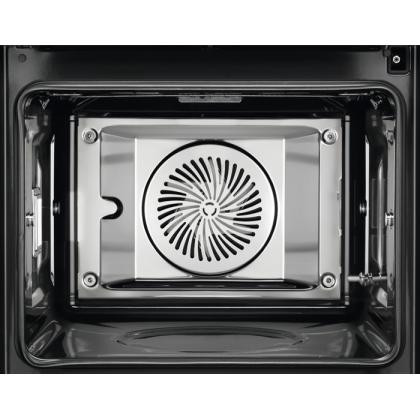 Cuptor electric Sous Vide Electrolux EOA9S31CX, CookView900, WiFi, cu autocuratare cu abur A++ 70 l