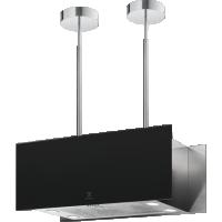 Hota insula Electrolux KFIA19R, 90 cm, Hob2Hood, neagra, telecomanda