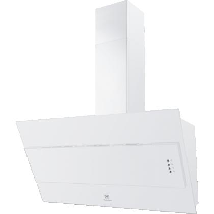 Hota de perete Electrolux LFV319W, 90 cm, alba