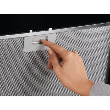 Hota de perete Electrolux LFV619K, 90 cm, neagra, Hob2Hood, Breeze