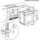 Cuptor incorporabil electric Electrolux EOC6P71X, SteamCrisp , pirolitic, inox, FoodProbe