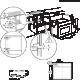 Cuptor incorporabil compact combinat Electrolux EVL6E40X, inox, microunde, electric