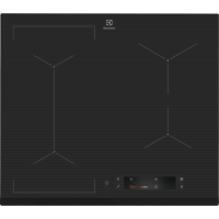 Plita incorporabila inductie Electrolux EIS6648, 60 cm, Food Sensor, functie Bridge, Hob2Hood, gri, display color