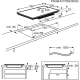 Plita incorporabila inductie Electrolux EIP8146, 80 cm, Hob2Hood, ActiveTouch
