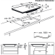 Plita incorporabila cu inductie Electrolux EIS8648, 80 cm, Gri, SensePro