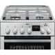 Aragaz mixt AEG CKB56401BX, PlusSteam, Inox, 50 cm
