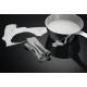 Plita incorporabila cu inductie AEG IAE64431FB, Negru, SENSEFRY, Hob2Hood, 60 CM