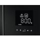 Cuptor cu microunde incorporabil AEG MBE2658DEM, functie microunde/grill, sticla, inox/negru