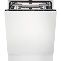 Masina de spalat vase complet incorporabila AEG FSK93807P, 60 cm, AirDry, Motor Inverter, usa culisanta, A+++