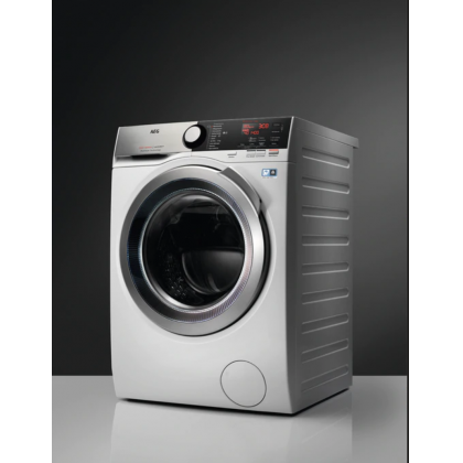 Masina de spalat rufe AEG L7FEE68S, Alb, 60cm, 8 Kg, motor inverter