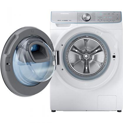 Masina de spalat rufe Add Wash Samsung WW10M86INOA, Inverter, Eco Bubble, Alb, 10 kg, frontala