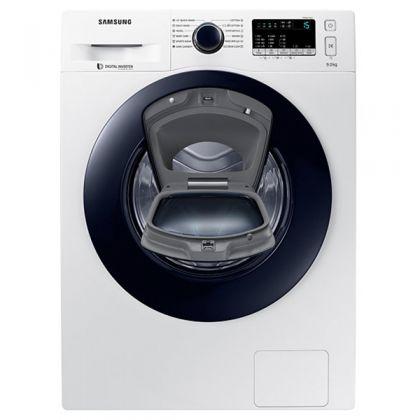 Masina de spalat rufe Add Wash Samsung WW90K44305W, Alb, Inverter, 9 kg, frontala, A+++