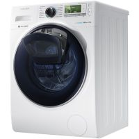 Masina de spalat rufe Add Wash Samsung WW12K8412OW, Alb, Inverter, Eco Bubble, Frontala, 12 kg