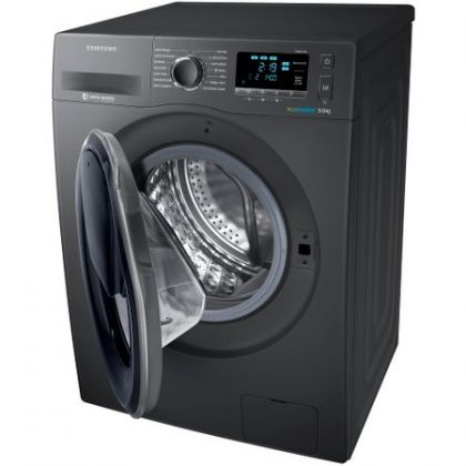 Masina de spalat rufe Add Wash Samsung WW90K6414QX, Inox/Titan, Eco Bubble, Frontala, 9 kg, A+++