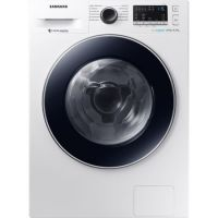 Masina de spalat rufe cu uscator Samsung WD80M4A43JW Eco Bubble, Alb, Inverter, Frontala, spalare/uscare 8/4.5 kg, 1400 rpm