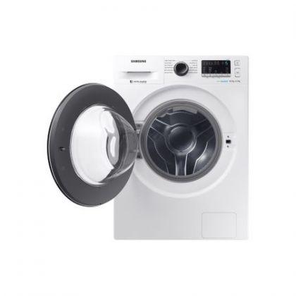 Masina de spalat rufe cu uscator Samsung WD80M4A43JW Eco Bubble, Alb, Inverter, Frontala, spalare/uscare 8/4.5 kg, 1400 rpm