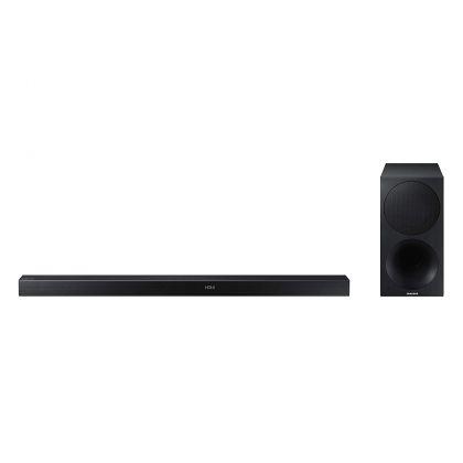 Sound bar Samsung HW-M550, Negru, Putere RMS: 340 W, sistem: 3.1, Dolby Digital 5.1/DTS 2