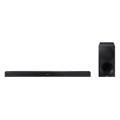 Sound bar Samsung HW-M450, Negru, Putere RMS: 320 W, sistem: 2.1, Dolby Digital 2/DTS 2