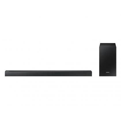 Sound bar Samsung HW-R450, Negru, Putere RMS: 200 W, sistem: 2.1, Dolby Digital /DTS 2