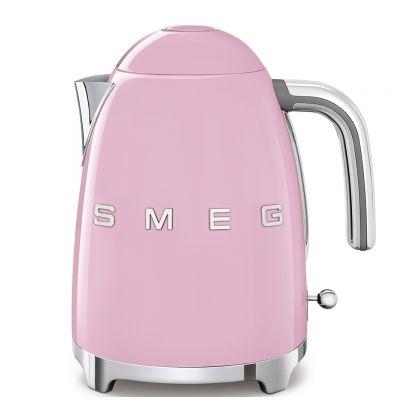Fierbator de apa retro Smeg KLF03PKEU, roz