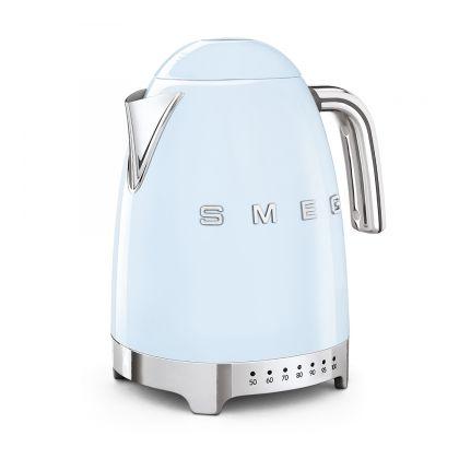 Fierbator de apa retro Smeg KLF04PBEU, albastru, 7 nivele temperatura