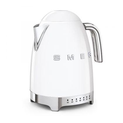 Fierbator de apa retro Smeg KLF04WHEU, alb, 7 nivele temperatura