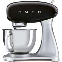 Mixer de blat retro Smeg SMF02BLEU, negru