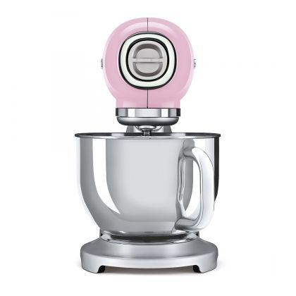 Mixer de blat retro Smeg SMF02PKEU, roz