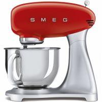 Mixer de blat retro Smeg SMF02RDEU, rosu