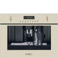 Espressor incorporabil retro Smeg Colonial/Cortina CMS8451P, crem