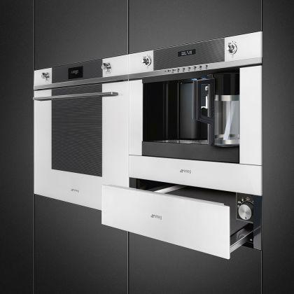 Espressor incorporabil Smeg Linea CMS4101B, alb