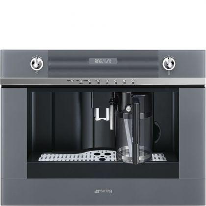 Espressor incorporabil Smeg Linea CMS4101S, inox si sticla