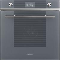 Cuptor incorporabil electric Smeg Linea SF6102TVS, Silver Glass, Vapor Clean