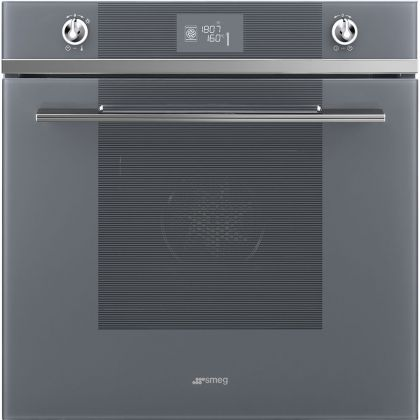 Cuptor incorporabil electric Smeg Linea SF6102TVS, Silver Glass, Vapor Clean