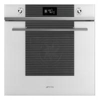Cuptor incorporabil electric Smeg Linea SF6102TVB, Alb, Vapor Clean