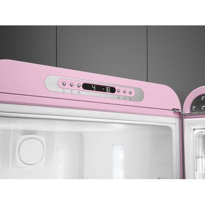 Combina frigorifica retro Smeg FAB32RPK3, No Frost, clasa A+++, roz, inverter