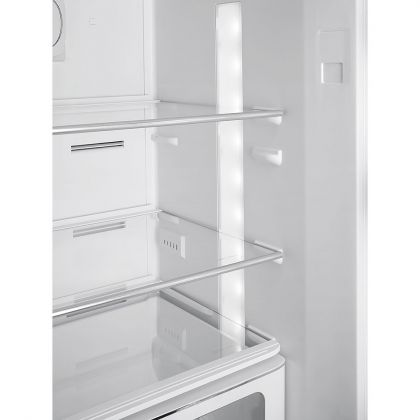 Combina frigorifica retro Smeg FAB32RLI3, No Frost, clasa A+++, lime, inverter