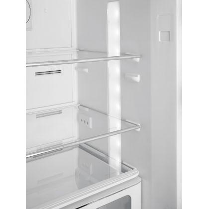 Combina frigorifica retro Smeg FAB32RSV3, No Frost, clasa A+++, gri, inverter