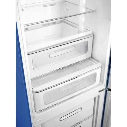 Combina frigorifica retro Smeg FAB32RBE3, No Frost, clasa A+++, albastru, inverter