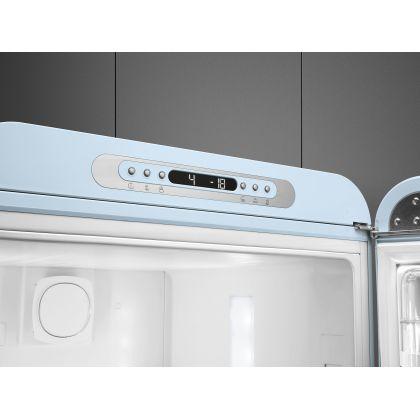 Combina frigorifica retro Smeg FAB32RPB3, No Frost, clasa A+++, albastru deschis, inverter