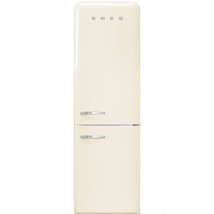 Combina frigorifica retro Smeg FAB32RCR3, No Frost, clasa A+++, crem, inverter